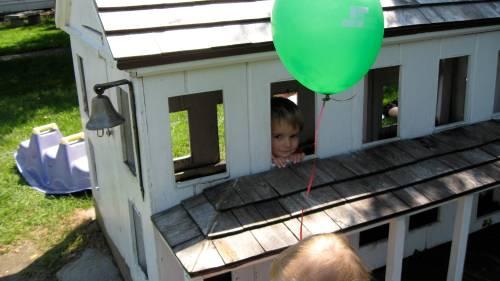 J in little house