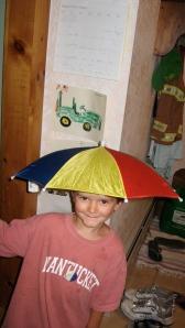 umrella hat