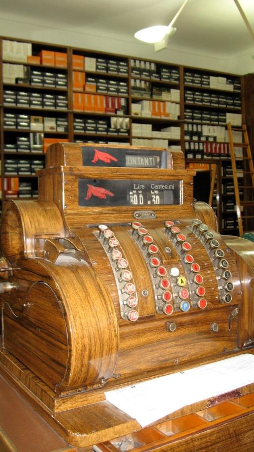 shoe store register